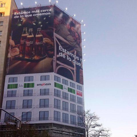 Lona Coca Cola