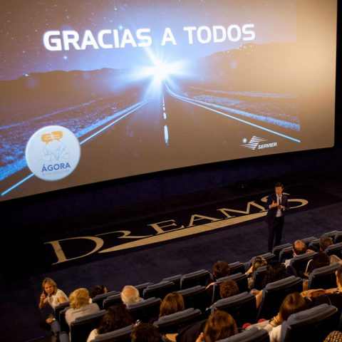 En el cine con Servier
